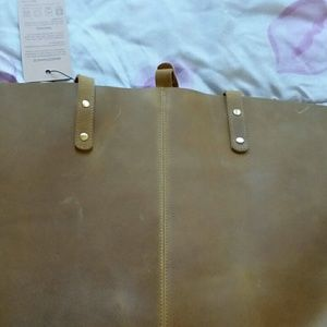 s-zone Bags - BNWT S-ZONE Genuine Leather Shoulder Bag